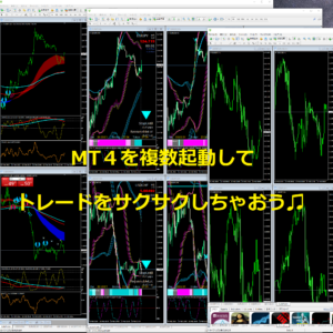MT4複数起動(多重起動)の方法のアイキャッチ画像です