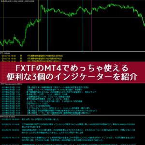 FXTFのMT4で使える便利な3つのインジケーター
