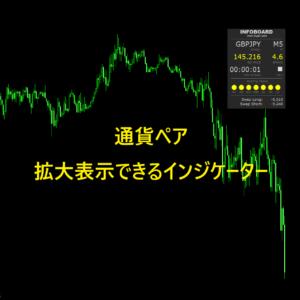 通貨ペア拡大表示できるインジケーター紹介のアイキャッチ