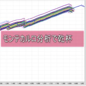 モンテカルロ分析チャート画像