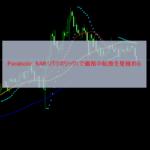 Parabolic SAR(パラボリック)で価格の転換を見極める