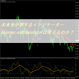 未来を予測するインジケーターfourier-extrapolator