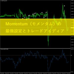 Momentum(モメンタム)の最強設定とトレードアイディア