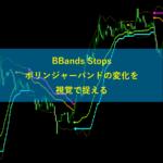 BBands Stopsボリンジャーバンドの変化を視覚で捉える
