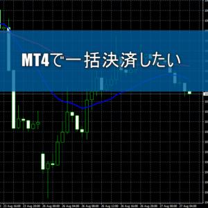 MT4一括決済イメージ画像