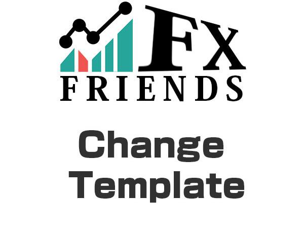 MT4のテンプレートを一括で変更するツール