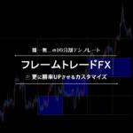 フレームトレードFXをカスタマイズしたら、さらに勝率が高まった!