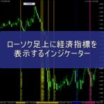 ローソク足上に経済指標を表示するインジケーター「HU_Economic_Indicators」のレビュー