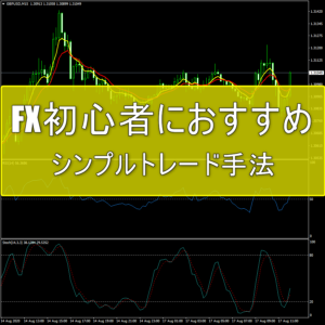 FX初心者におすすめのシンプル手法(テンプレート付き)