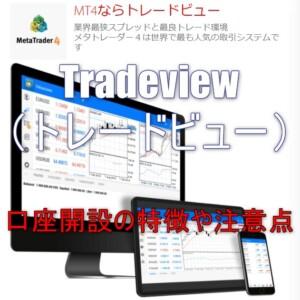Tradeview(トレードビュー)での口座開設の特徴や注意点