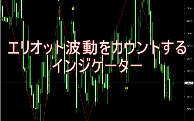 エリオット波動をカウント表示してくれるインジケーター「FX ElliotWave」