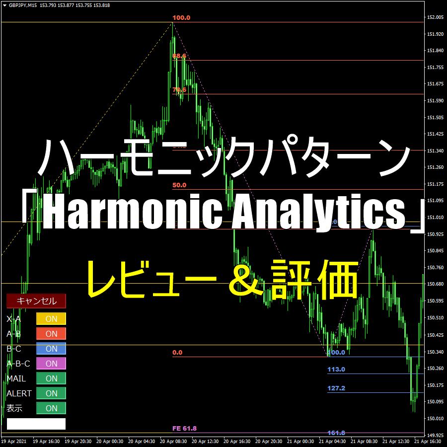 ハーモニックパターン「Harmonic Analytics」のレビュー