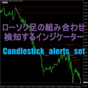 ローソク足の組み合わせを検知するインジケーター「Candlestick_alerts_set」